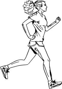 sketch-of-female-marathon-runner-vector-illustration_fyK1_Gdu